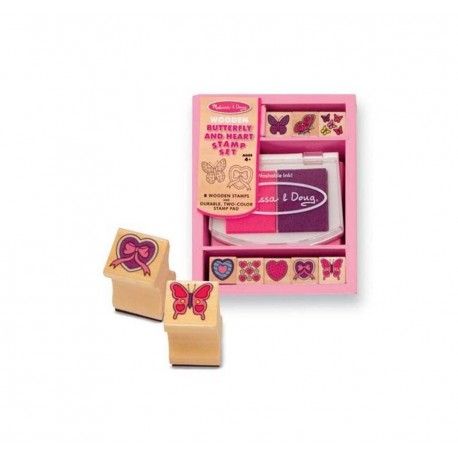 Toybies Stamp Set - Butterfly and Heart